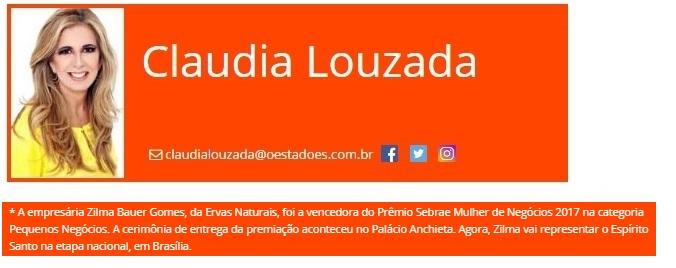 Ervas Naturais - 12-08-17- Coluna Claudia Louzada - Site O Estado ES