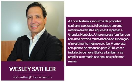 Ervas Naturais - 02-10-17 - Coluna Wesley Sathler - Site Folha Vitória